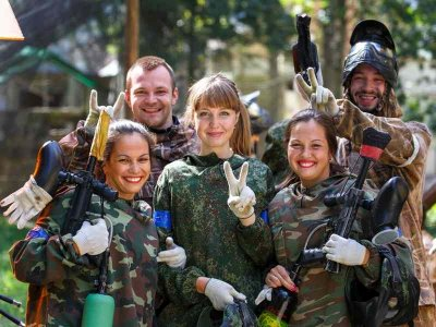 Outdoor Paintball in Aachen