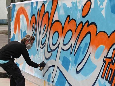 Graffiti Workshop Einsteiger