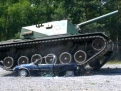 Car Crashing mit Panzer M48