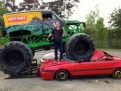 Monster Truck und Car Crash